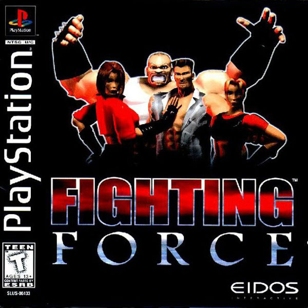 Fighting Force For PlayStation 1 PS1