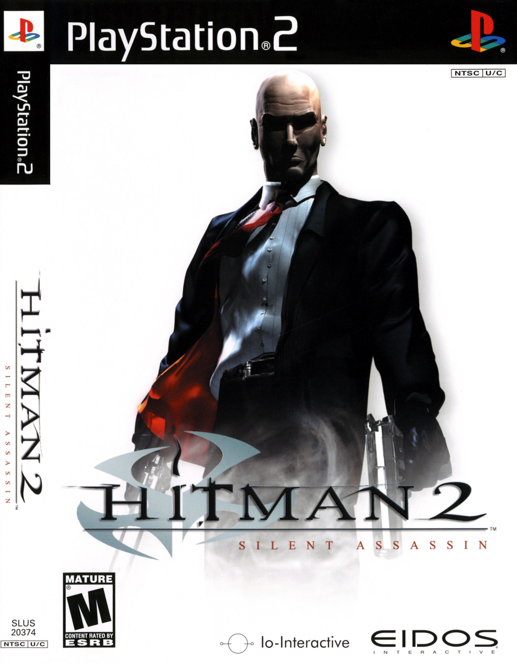Hitman 2: Silent Assassin For PlayStation 2 PS2 Shooter With Manual