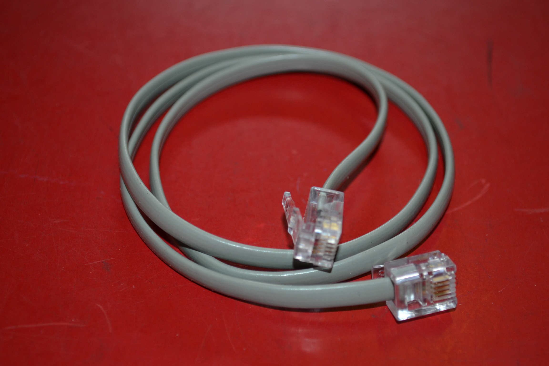 AT&T 2FT Line Cord Gray