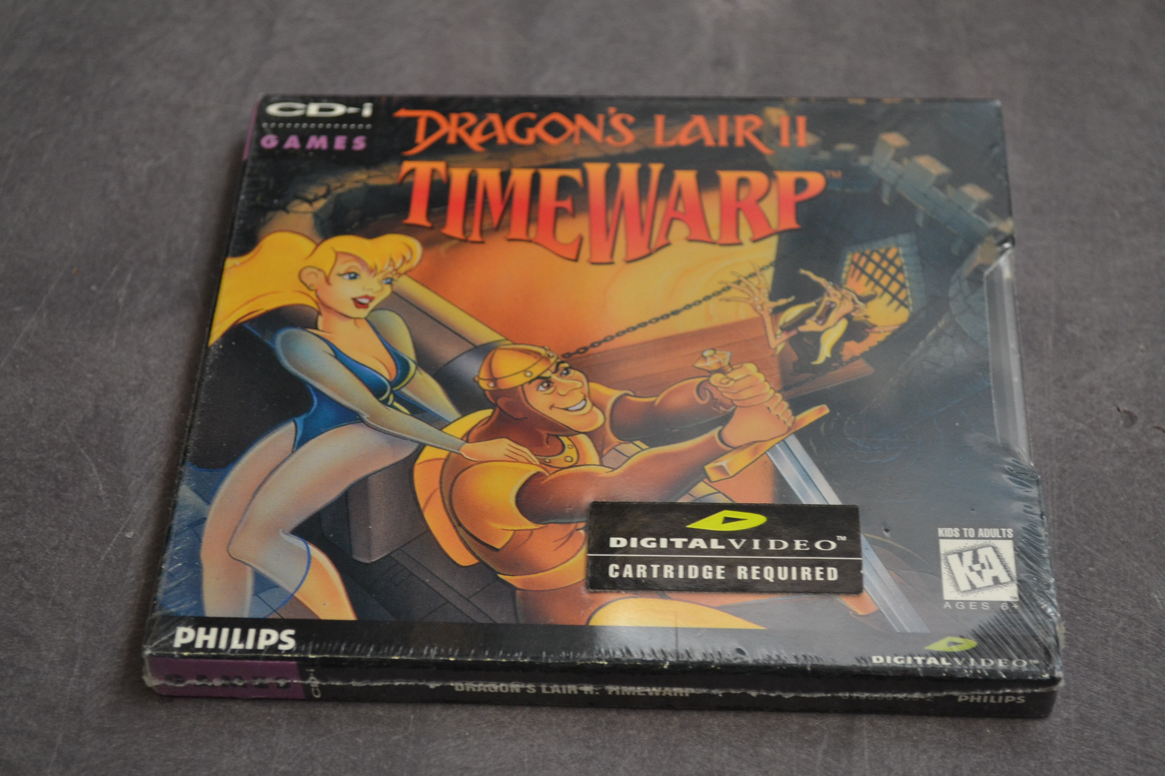 Dragon's Lair II Timewarp For CDi