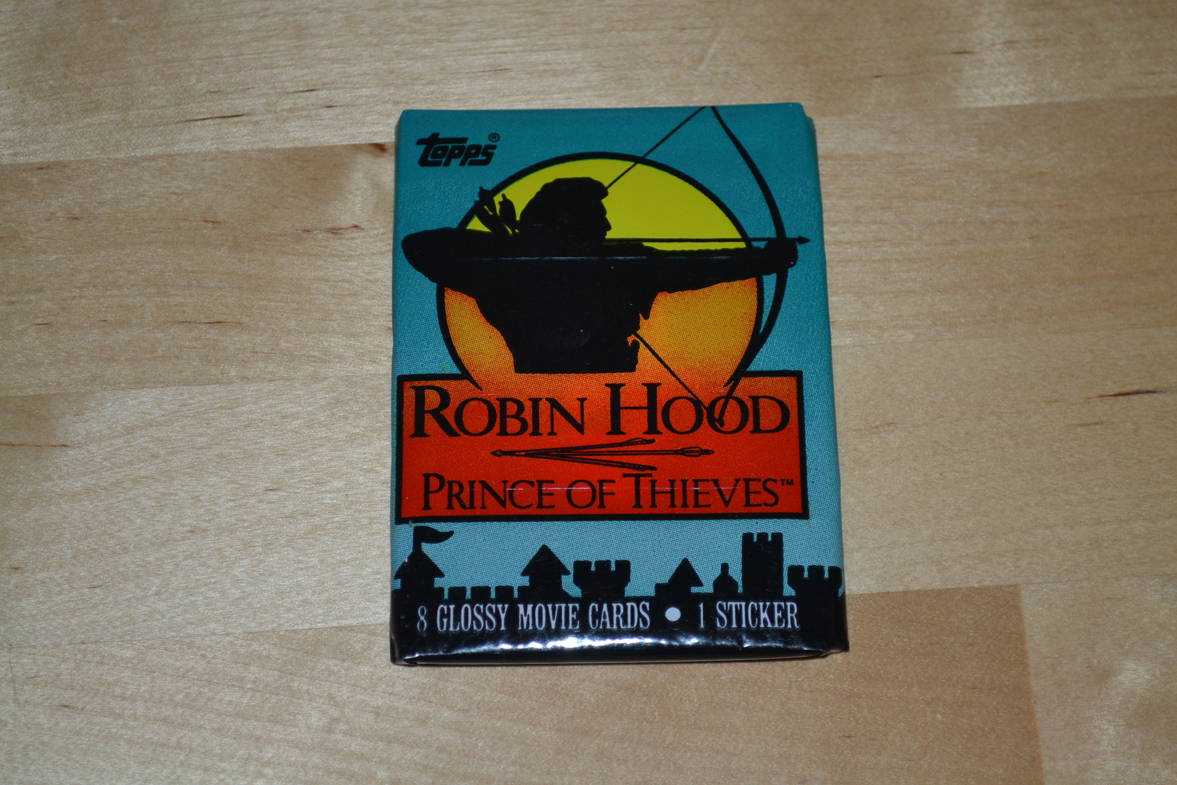1991 Topps Morgan Creek Robin Hood Price Of Thieves Kevin Costner 8