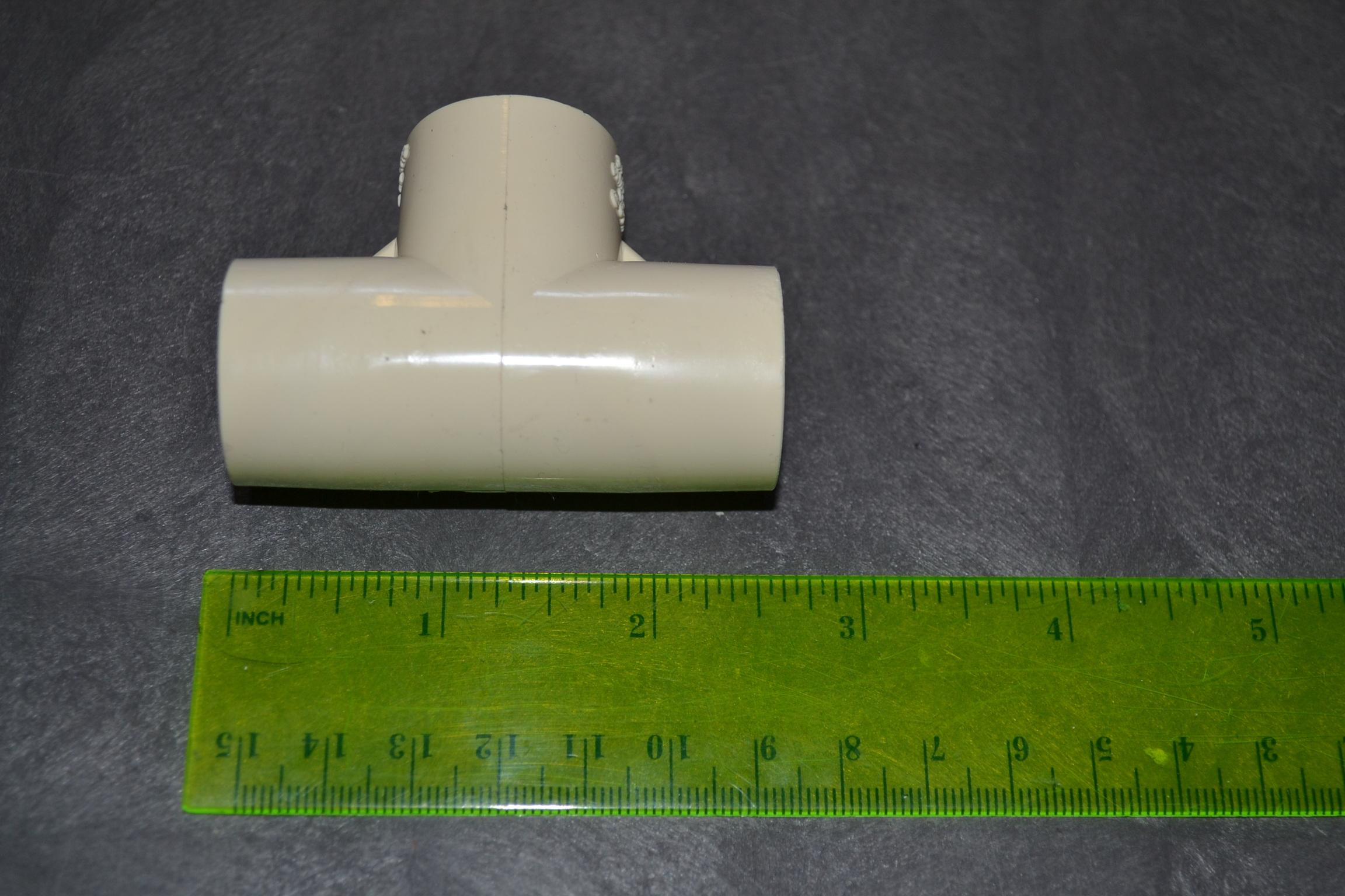 Image 0 of Genova 51407 Cpvc Tee 0.75 Inch PVC