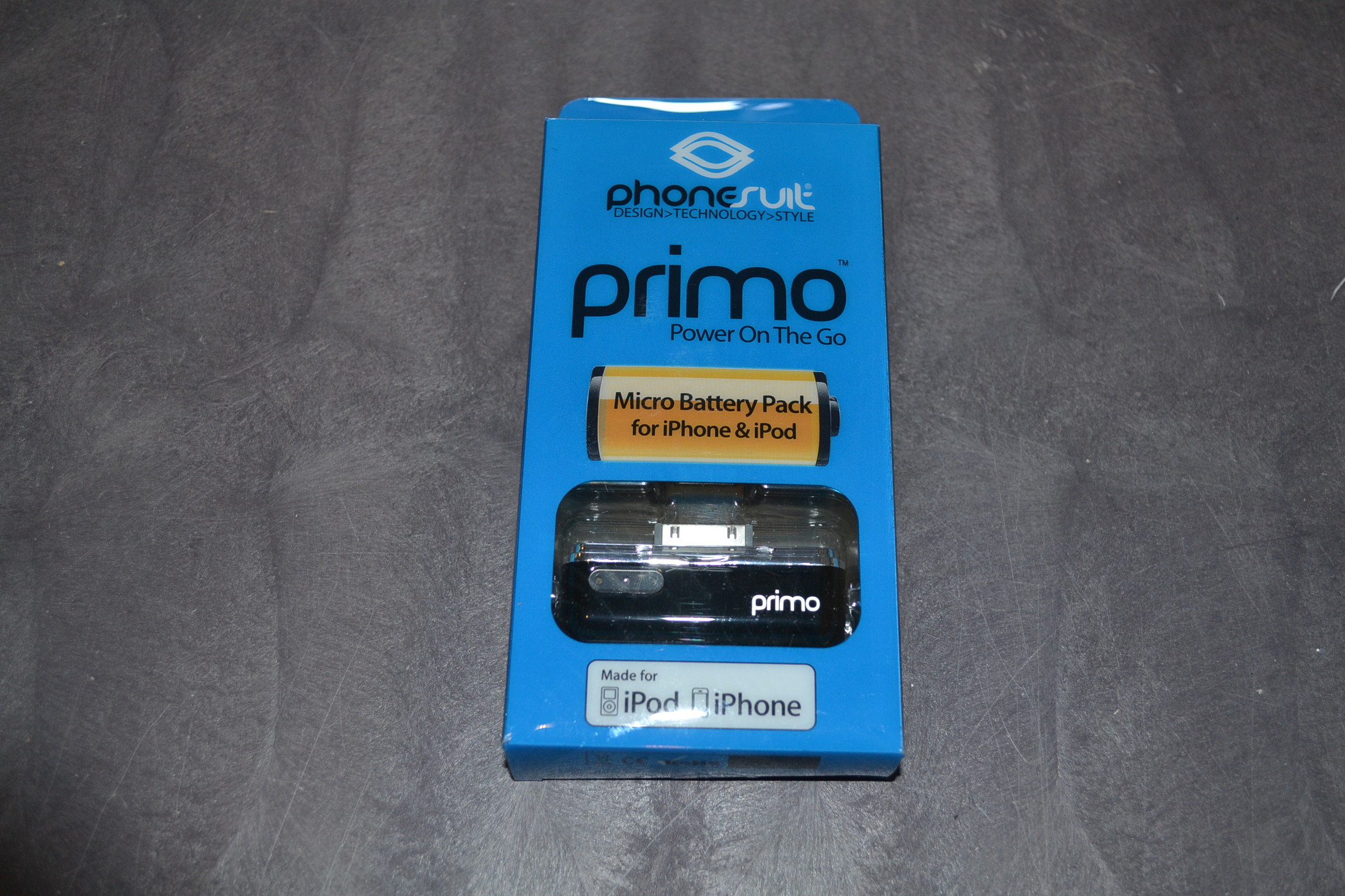 Image 0 of Phonesuite Primo Micro iPhone Battery Pack Black Primo-Ip-B External