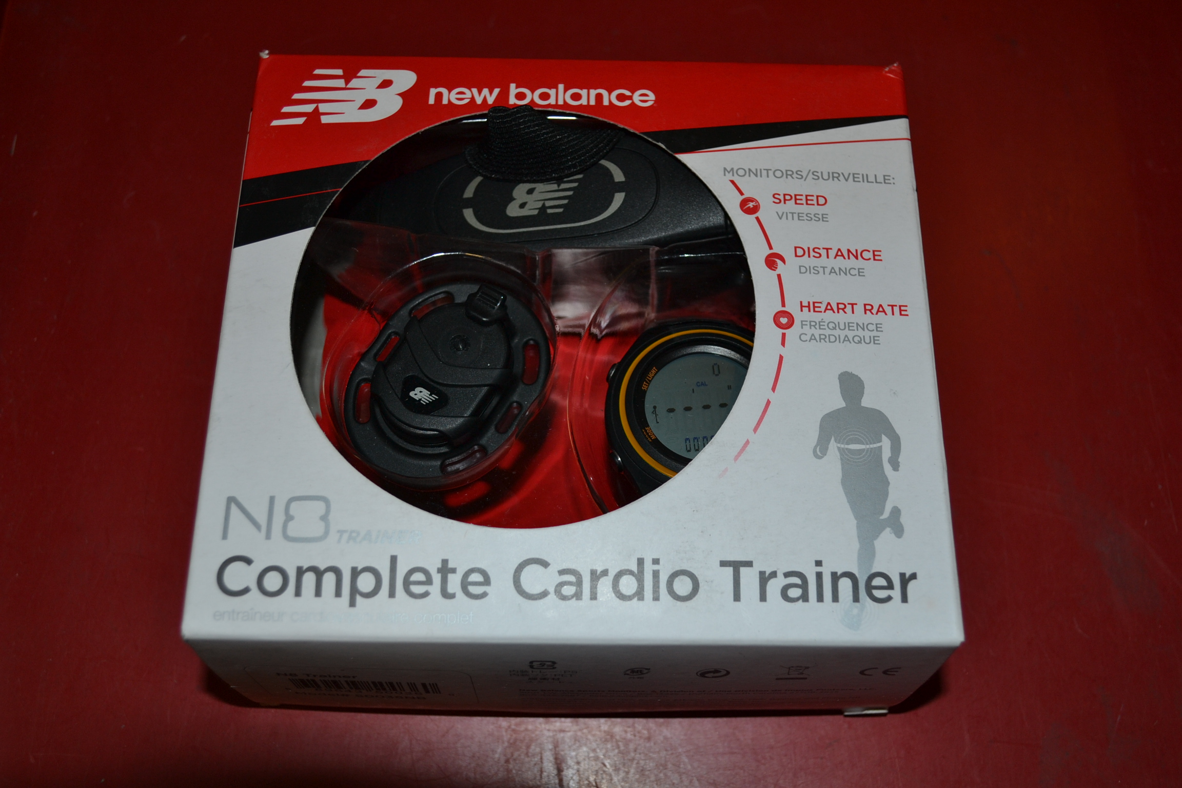 Balance 50036NB N8 Trainer With Heart Rate
