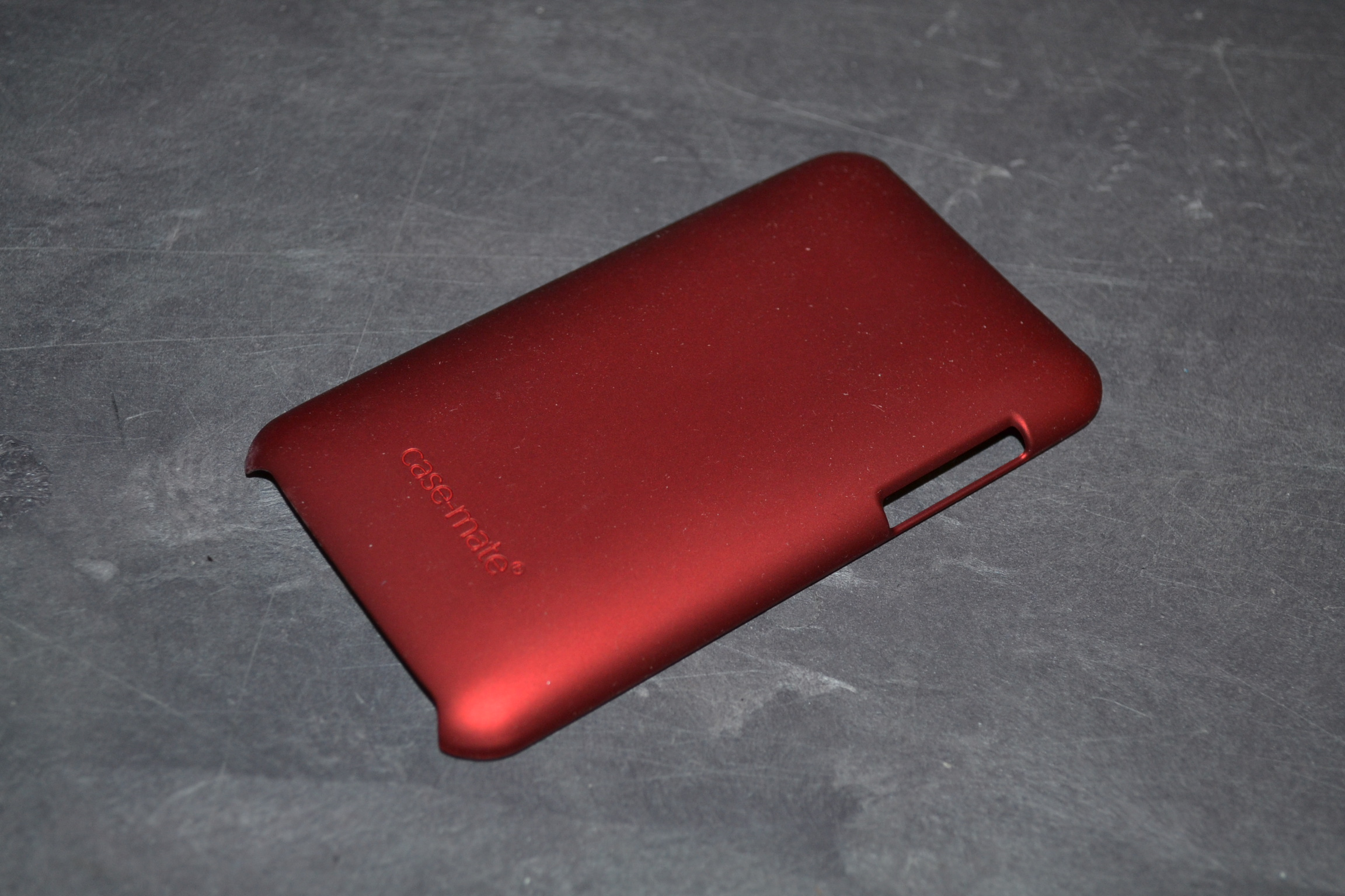 Case-Mate Barely There Case For Apple iPod Touch 2G In Red Fitted