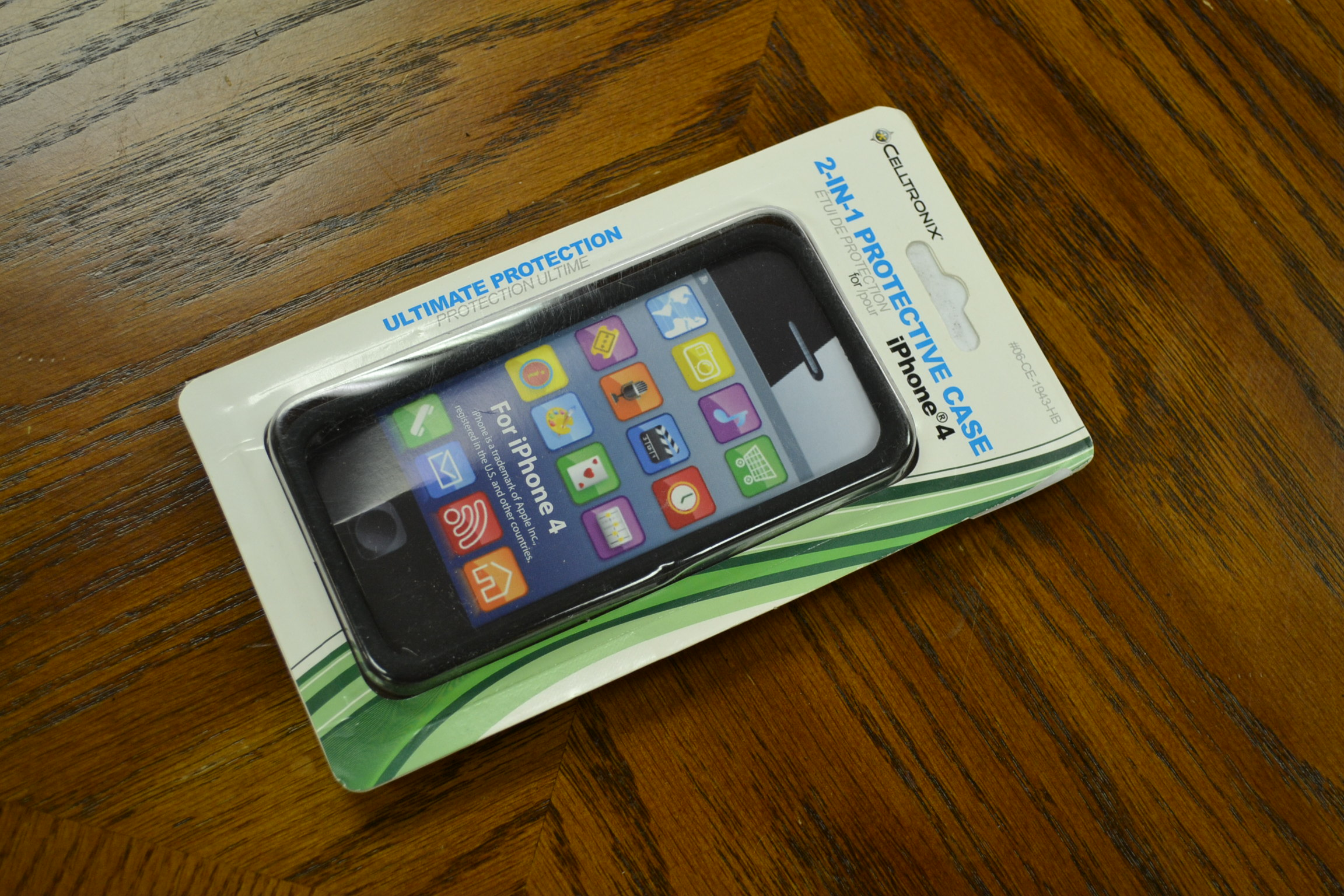 Hoffco Distribution Protective Case For iPhone 4 06-CE-1943-HB