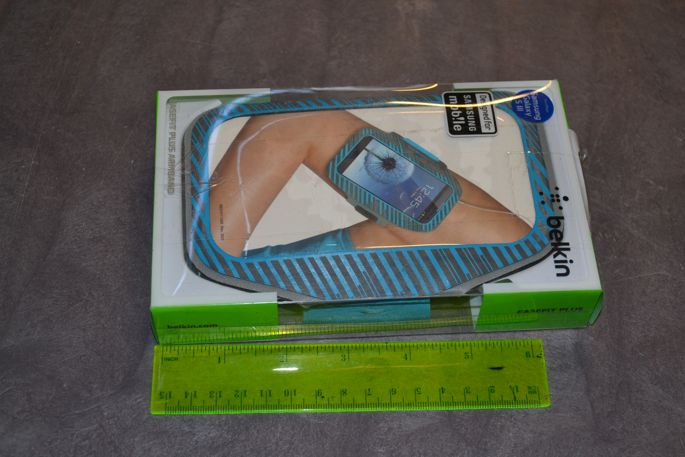 Belkin Easefit Plus Armband For Samsung Galaxy S3 / S III Blue