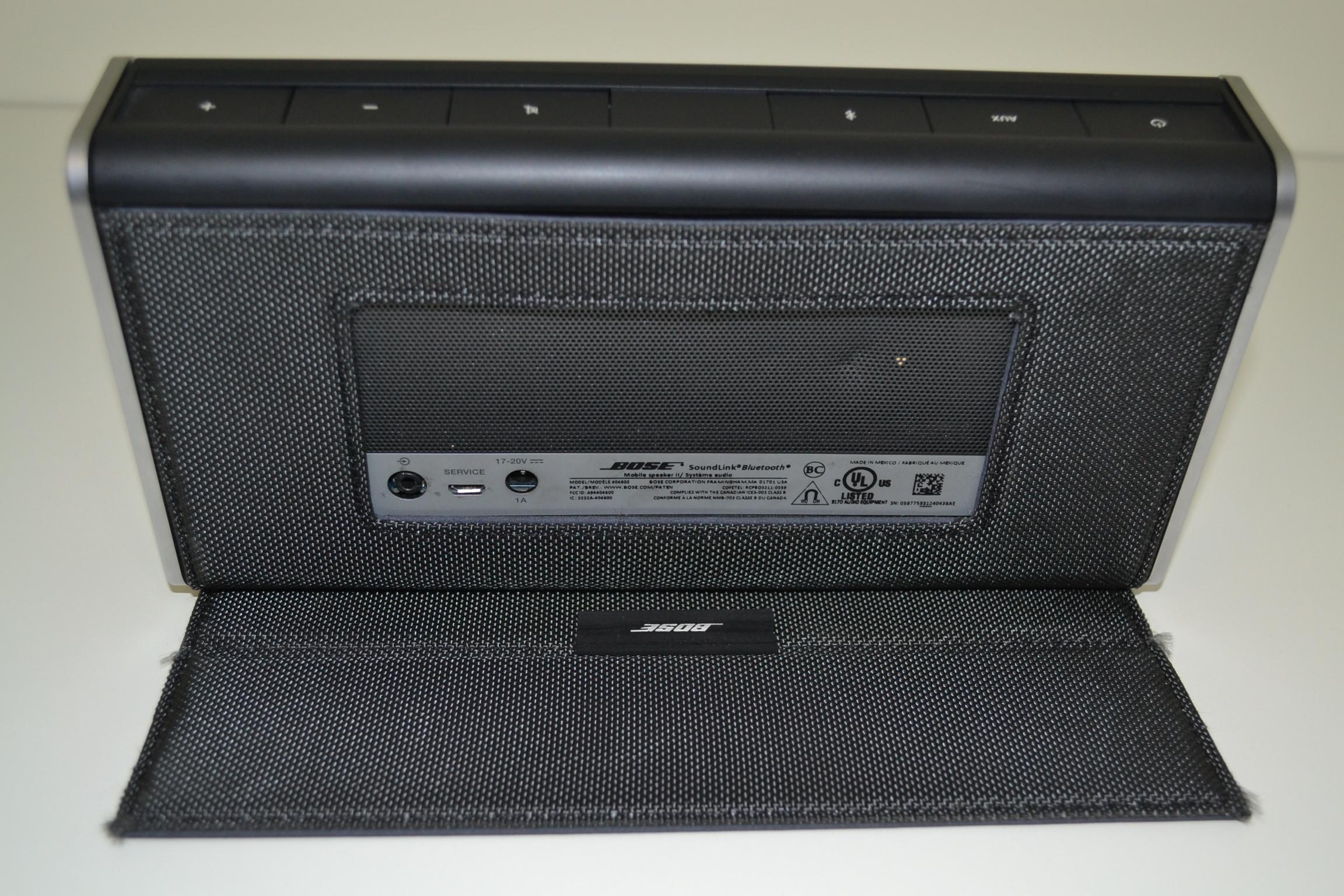 bose soundlink bluetooth mobile speaker ii nylon wireless portable. Black Bedroom Furniture Sets. Home Design Ideas