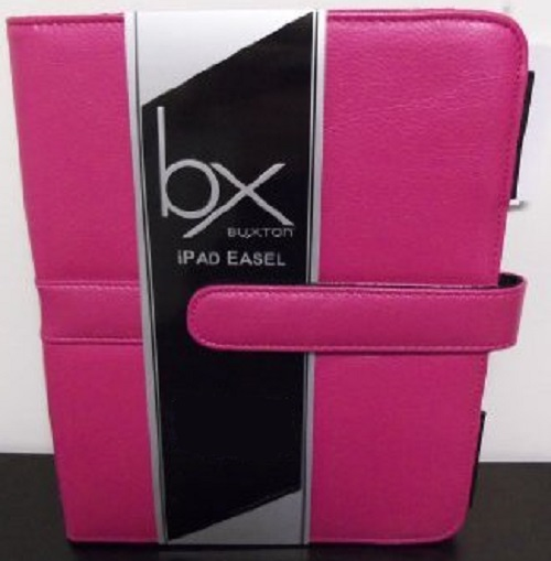 Buxton Pink iPad Easel For iPad 1 2 Case Cover Folding Fo 402-I15
