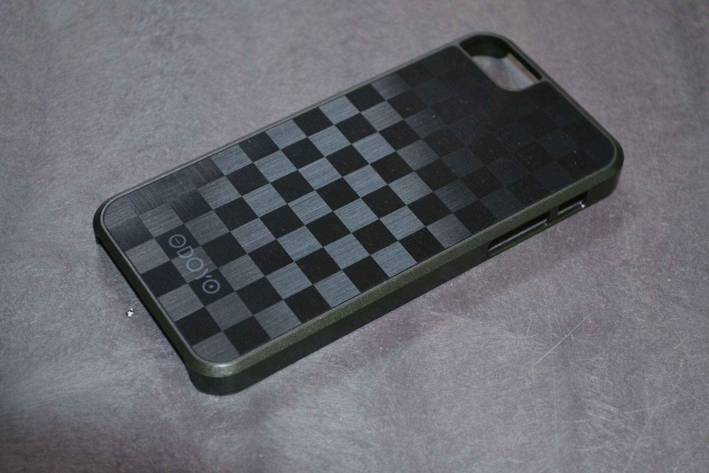 Odoyo PH361GC MetalSmith Case For iPhone 5 5S SE Grand Checker