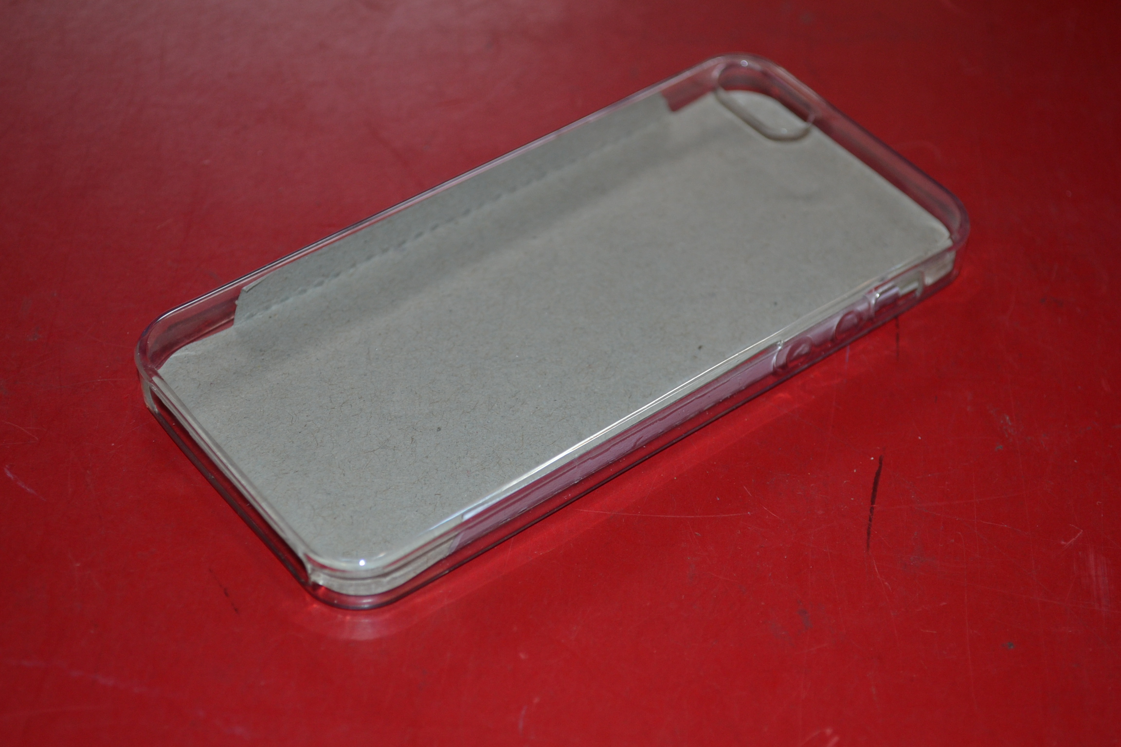 Clear Plain Tpu Gel Rubber Skin Case Cover For Apple iPhone 5 5S SE