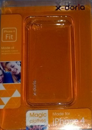 Clear iPhone 4 4S Case Cover Fitted
