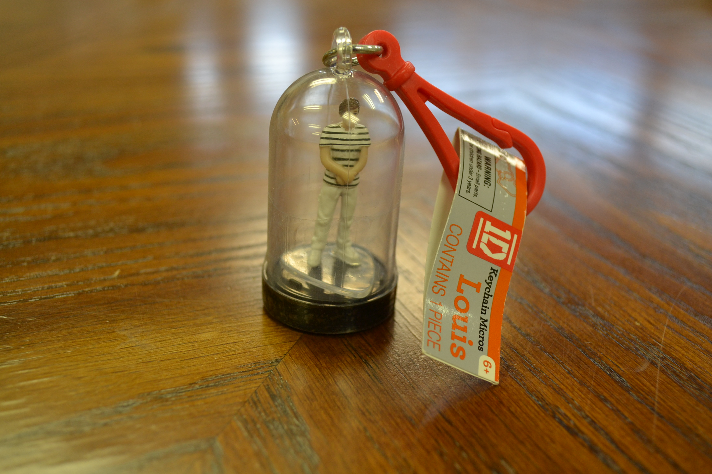 Image 1 of One Direction Micro Figure Keychain Louis
