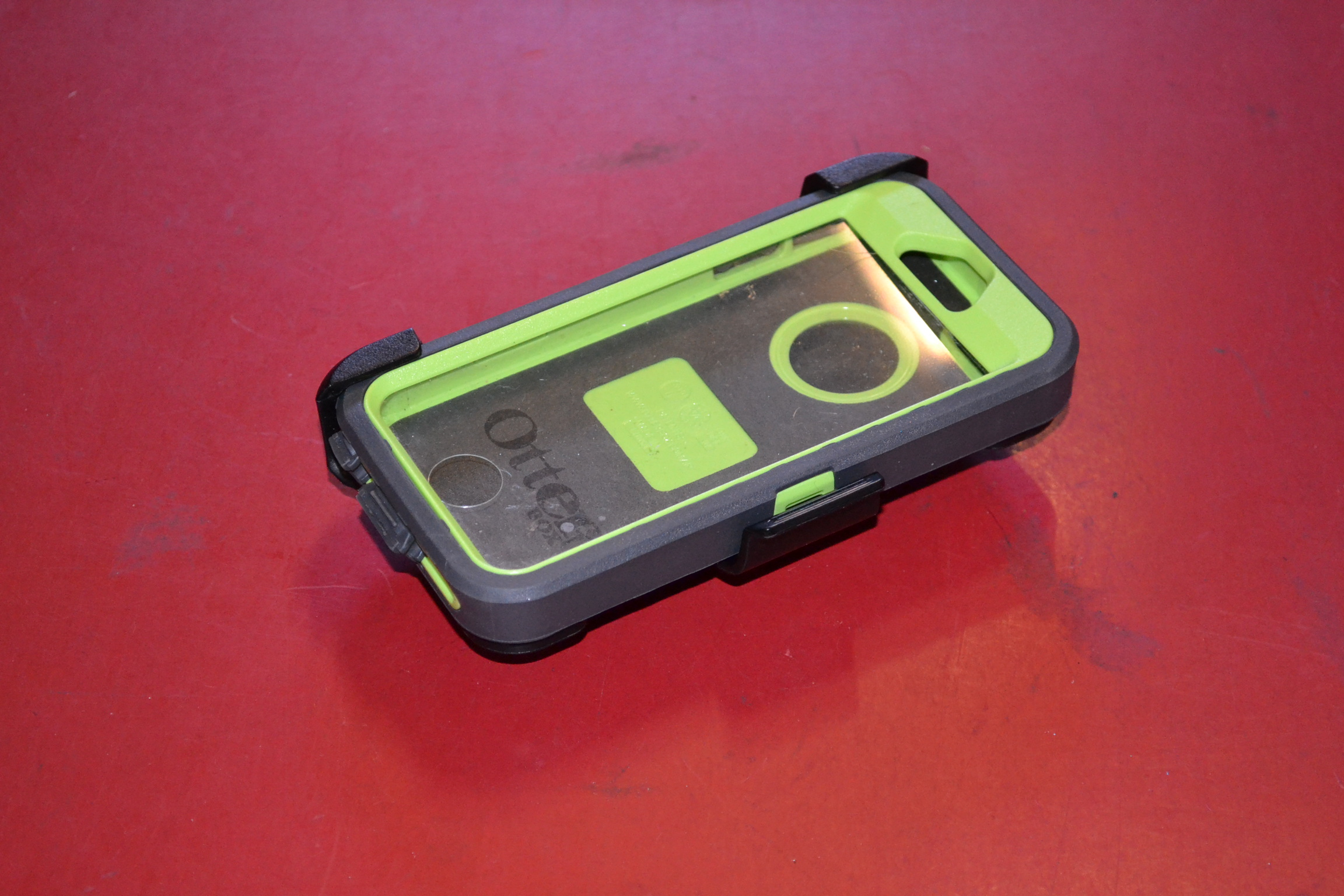 iphone 5 defender case how to open
