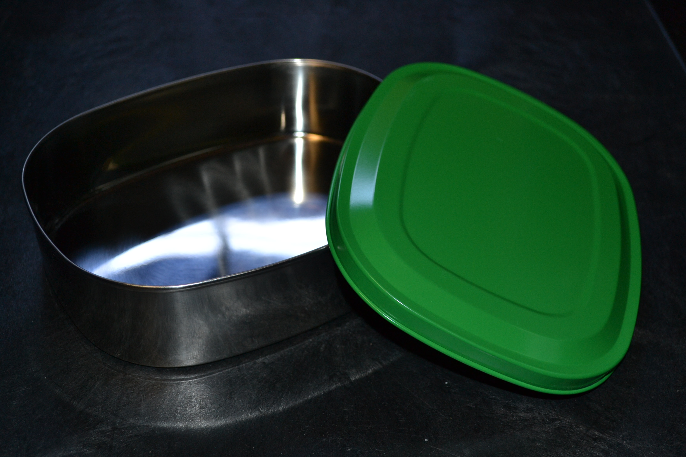 Stainless Steel Lunch-Safe Container Large Green