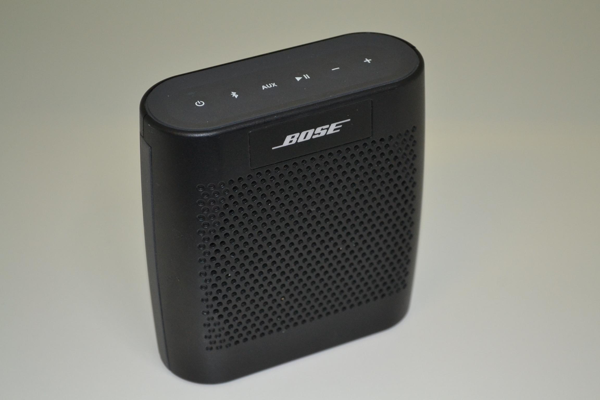bose soundlink color bluetooth speaker black wireless soundlink. Black Bedroom Furniture Sets. Home Design Ideas