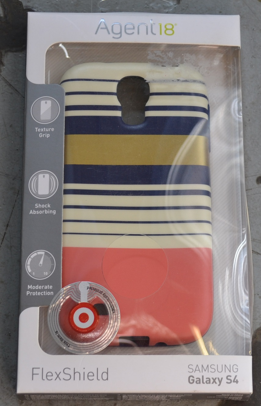 Agent 18 FlexShield Preppy Stripes For Samsung Galaxy S4 Case Cover