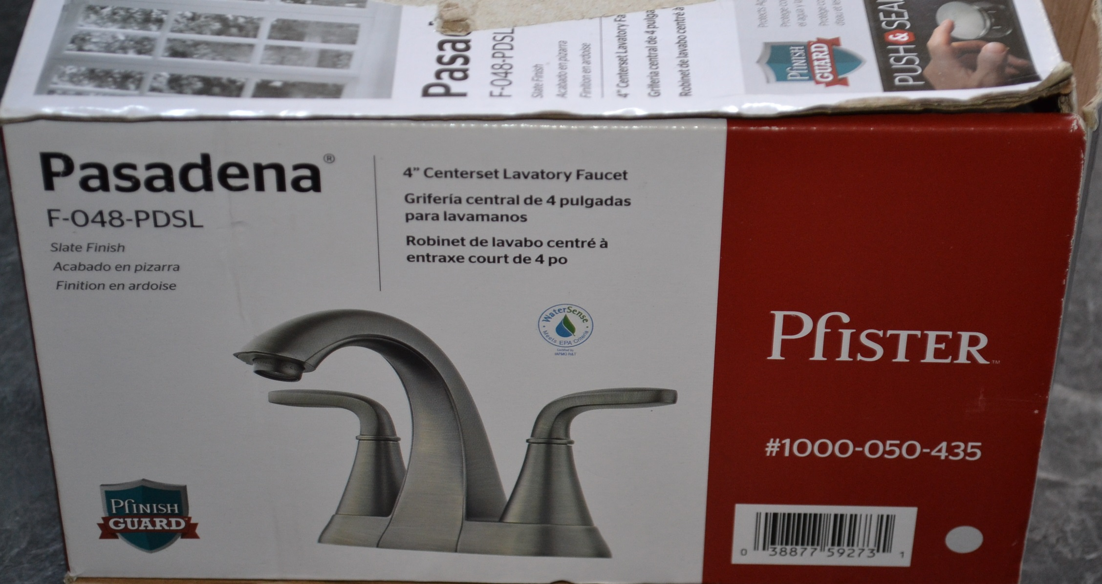 7 Faucet Finishes For Fabulous Bathrooms: F-048-PDSL Pasadena 4 In. Centerset 2-HANDLE HIGH-ARC