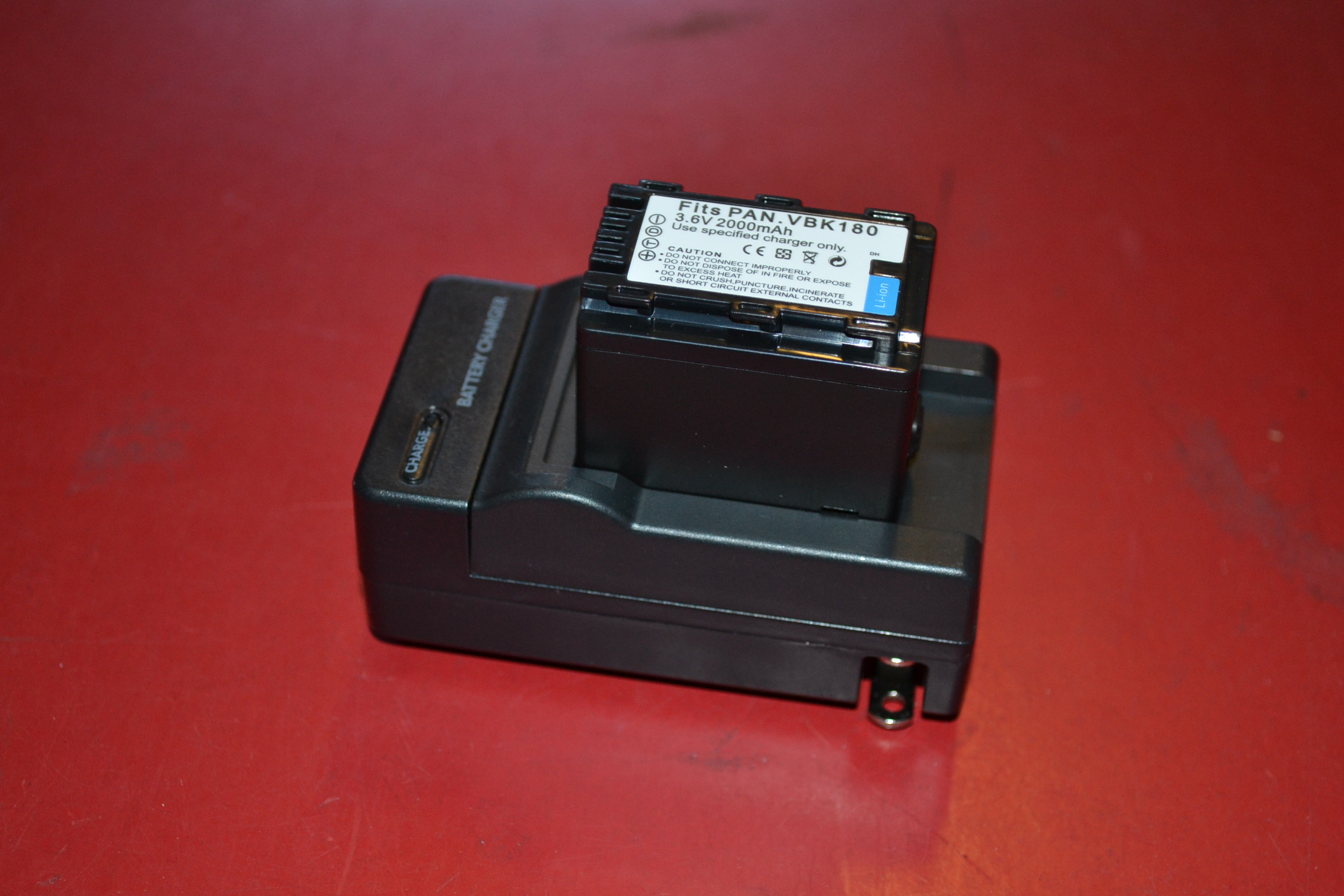 Camera Battery Charger Cradle For Panasonic Vbk 180T Lithium Battery