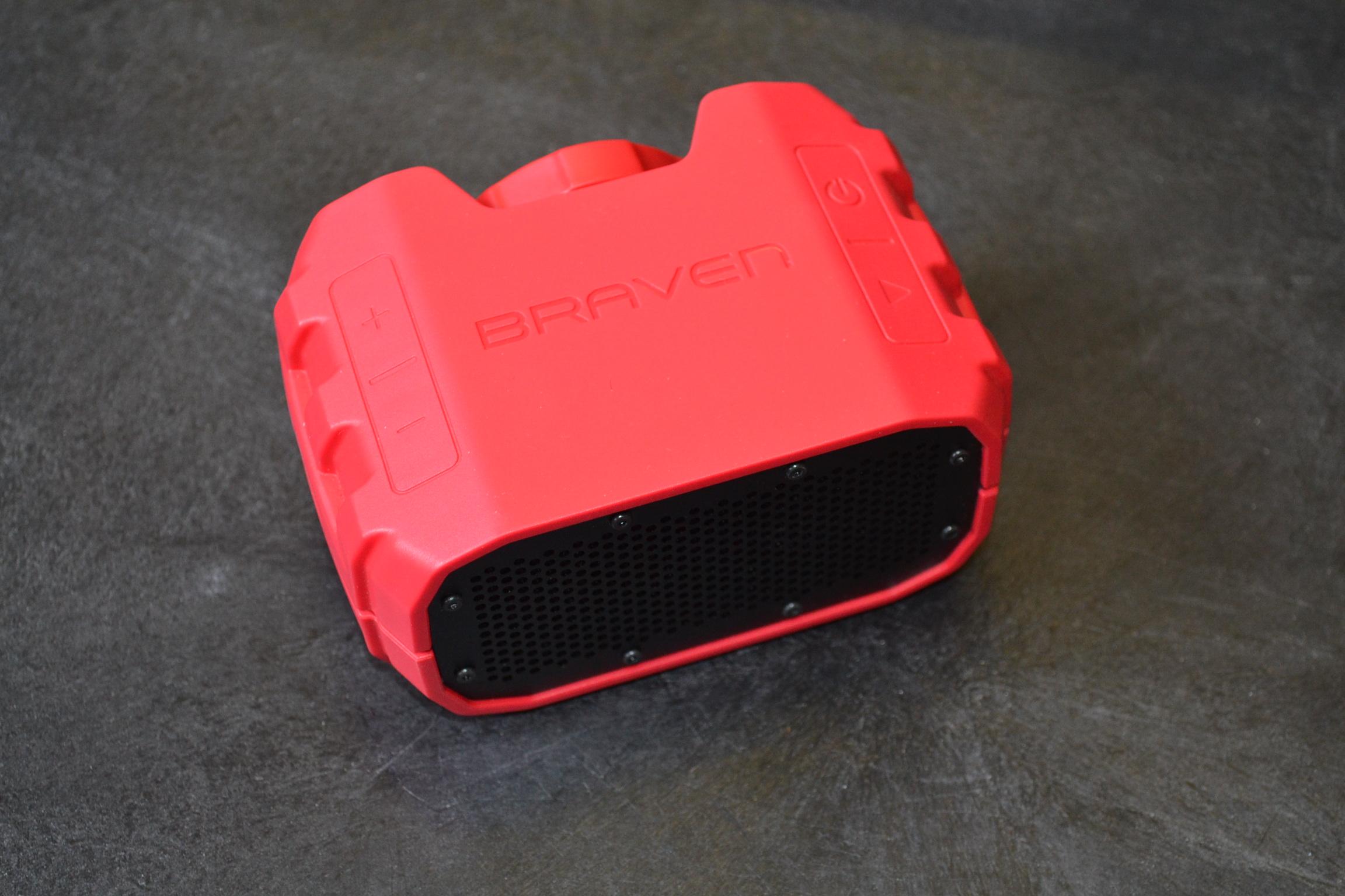 Braven BRV-1 Portable Wireless Bluetooth Speaker 12 Hourswaterproof Built-In 140